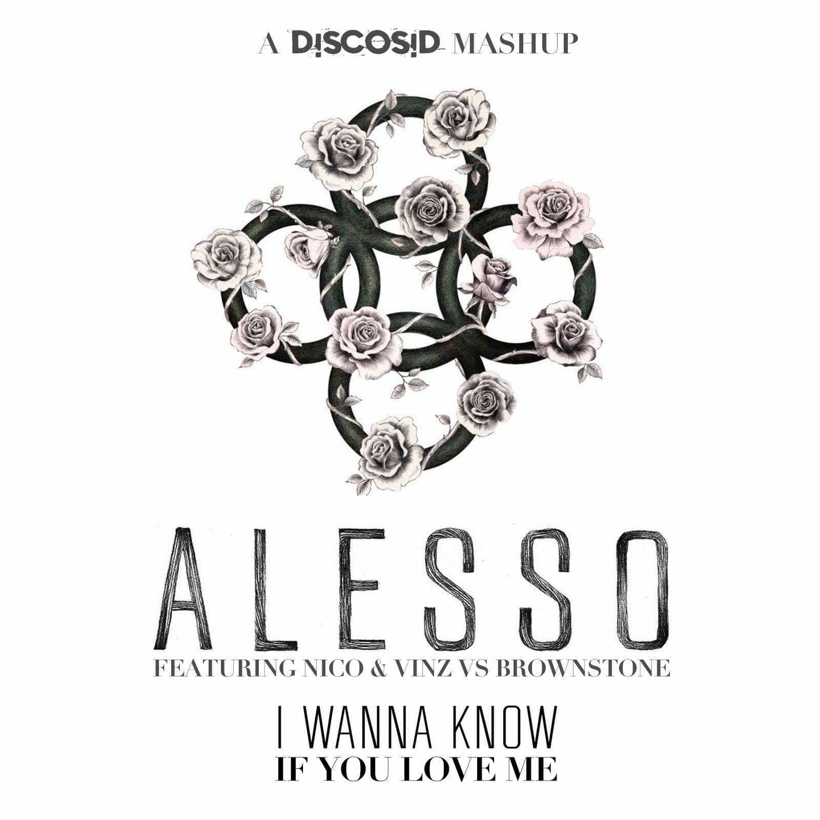 Alesso & Deniz Koyu Vs Brownstone - I Wanna Know If You Love Me (Discosid Mashup)