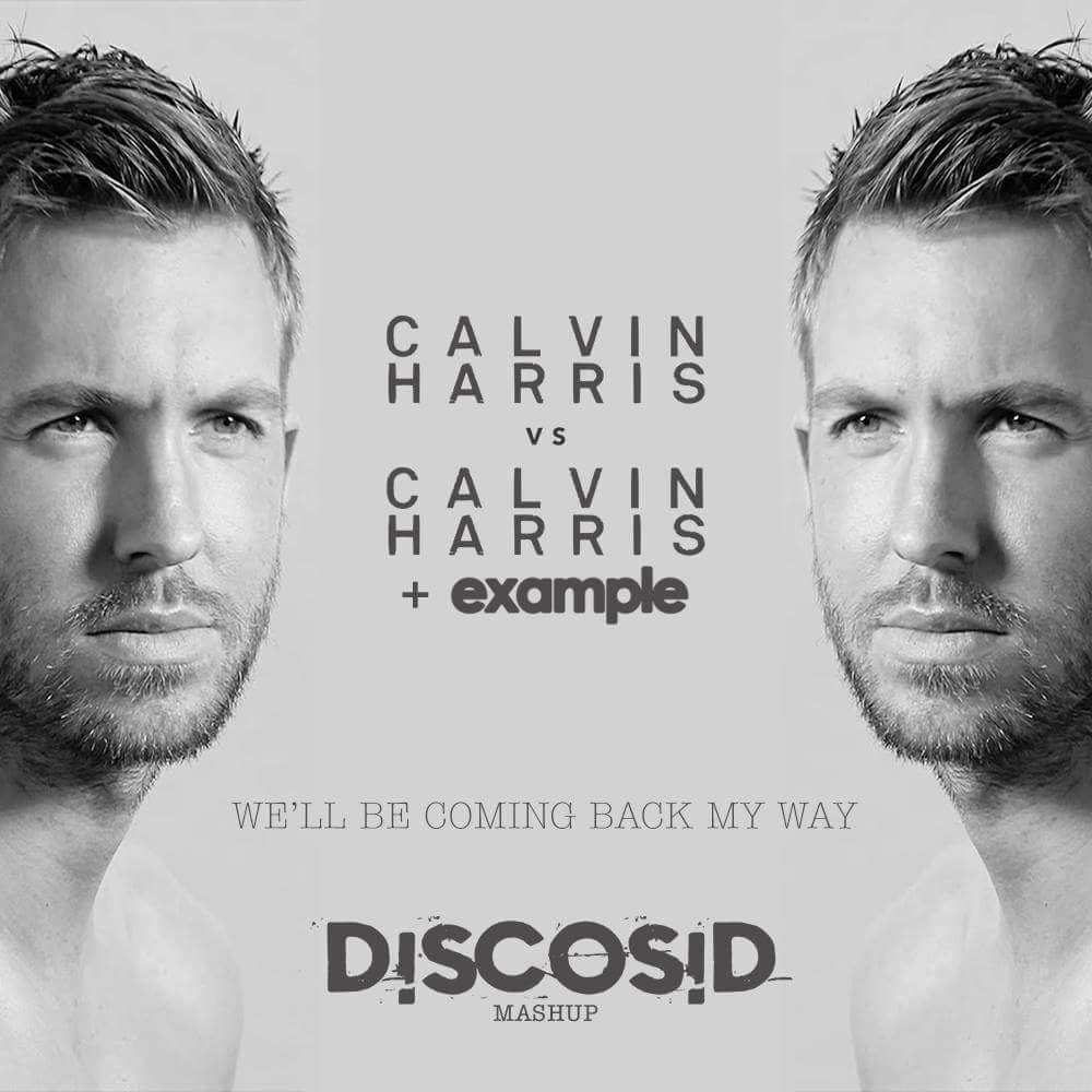 Calvin Harris Vs Calvin Harris & Example - We'll Be Coming Back My Way (Discosid Example Mashup)