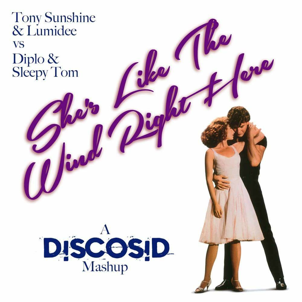 Tony Sunshine & Lumidee Vs Diplo & Sleepy Tom - She's Like The Wind Right Here (Discosid Mashup)